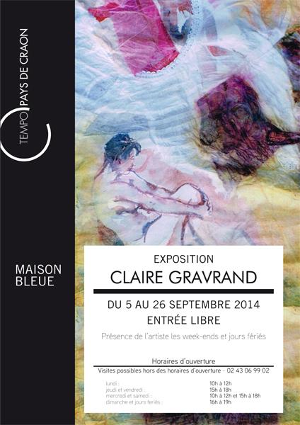 Affiche Claire Gravrand