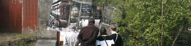 panneau n°4 du parcours d'interprétation du patrimoine minier