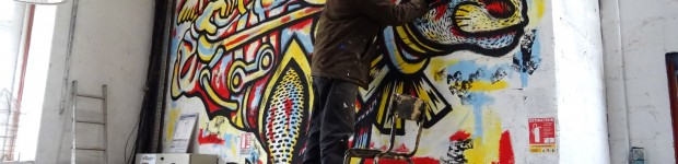 fresque murale- Hugues Picherit - Recette #6
