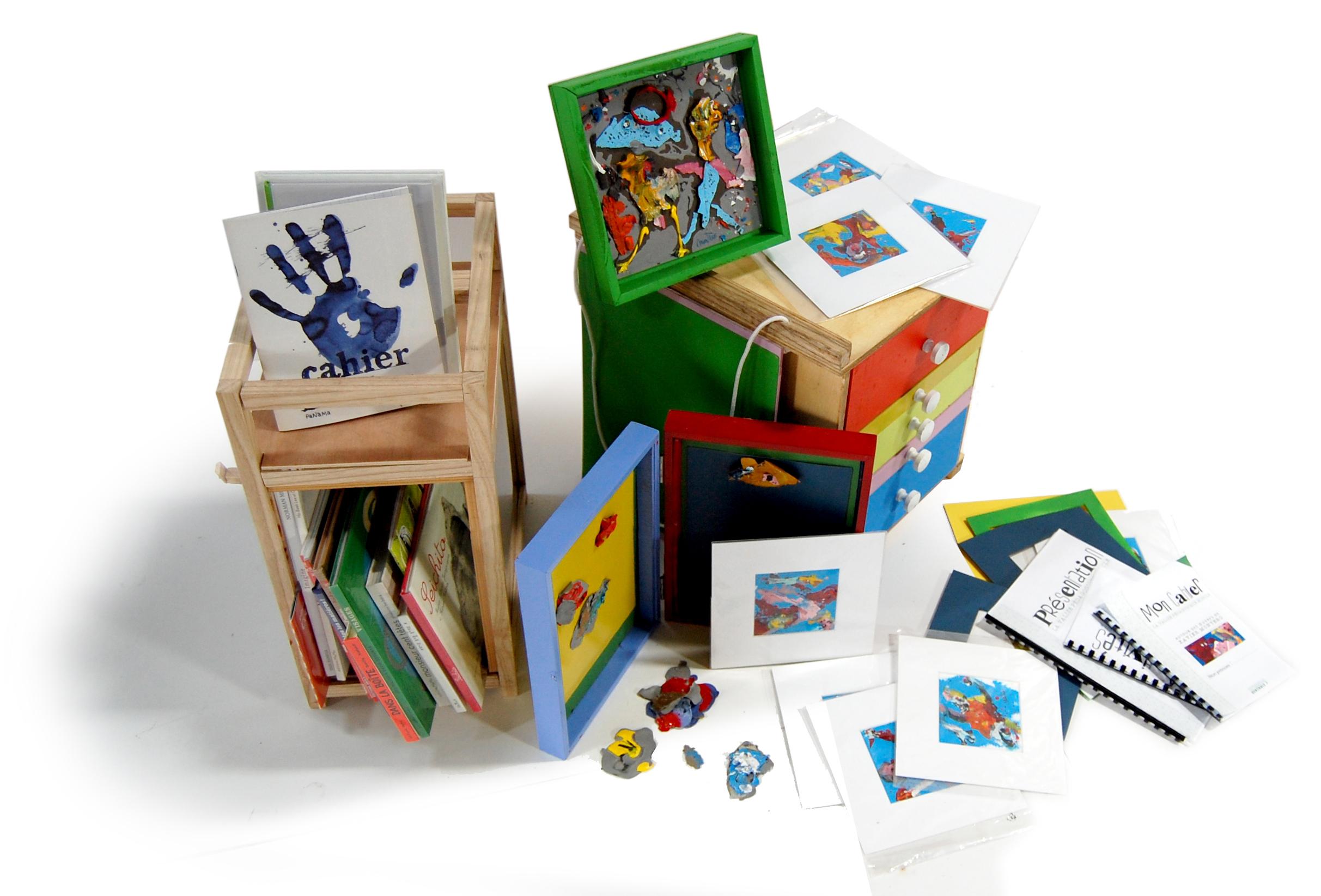 Valise pédagogique, destination peinture autour des œuvres de Xavier Montero