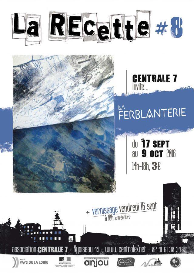Flyer La Recette #8-Centrale7
