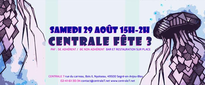 Centrale fête #3 | Le programme